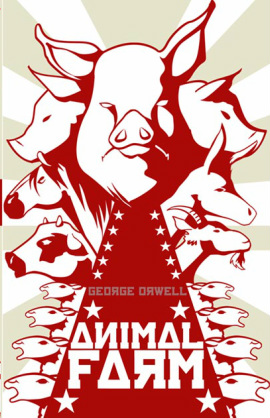 the real life counterparts of the animals in animal farm by george orwell 294 quotes from animal farm: 'all animals are equal hardship, and disappointment being, so he said, the unalterable law of life george orwell, animal farm 102 likes i trust that every animal here appreciates the sacrifice that comrade napoleon has made in taking this.